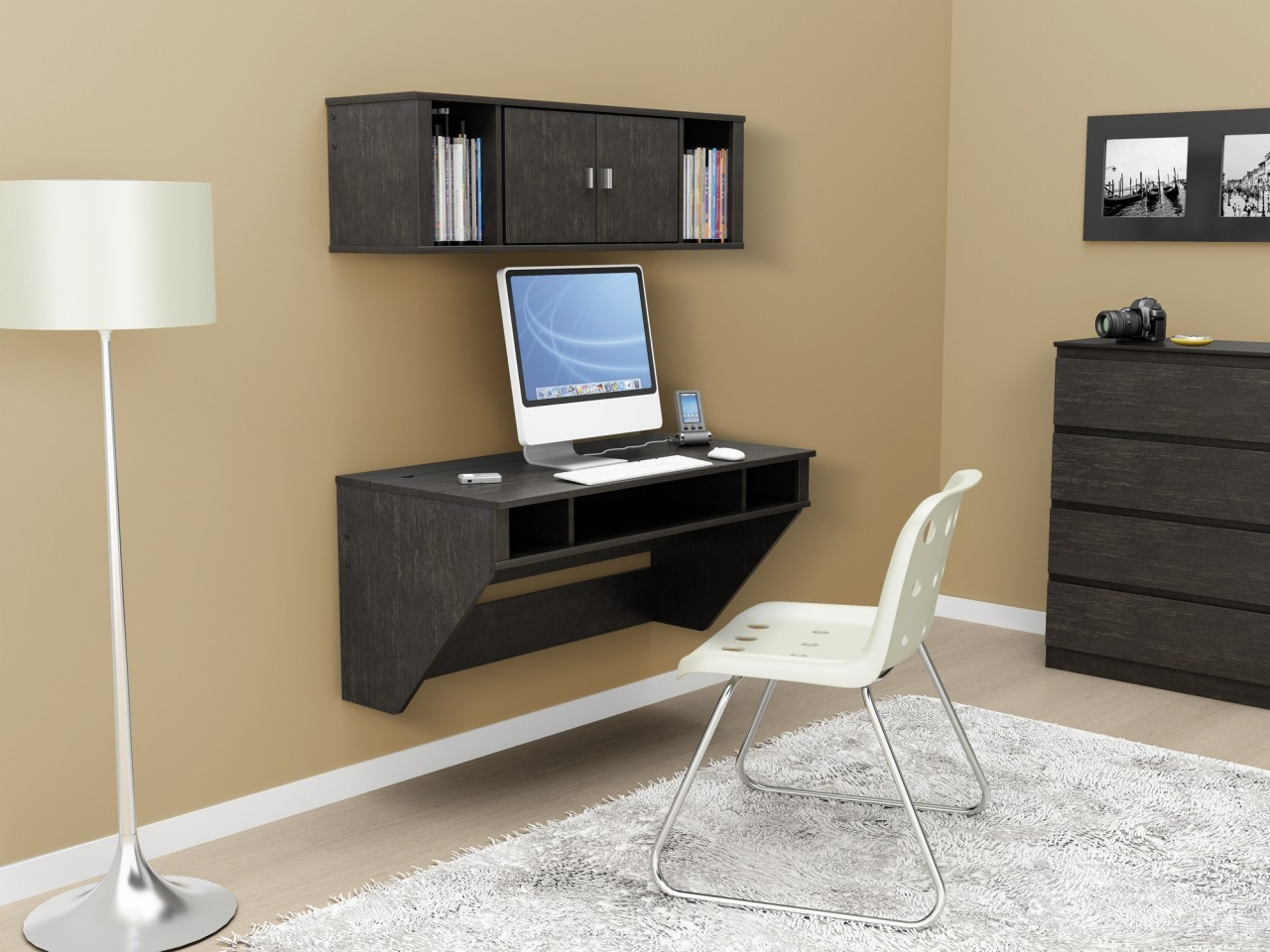 fascinating-furniture-ikea-wooden-computer-desks-for-small-spaces-home-office-with-black-wooden-cabinet-4-drawer-above-wood-floor-and-black-wooden-floating-computer-desk-be-equipped-storage-shelves-al