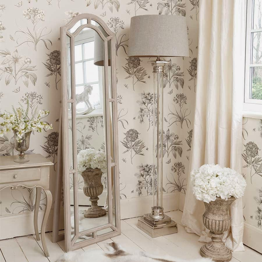 furniture-corner-shabby-chic-floor-lamp-with-glass-stand-and-stainless-steel-base-beside-mirror-with-wooden-frame-in-the-bedroom-ideas-shabby-chic-lamps-shabby-chic-bedroom-lamps-shabby
