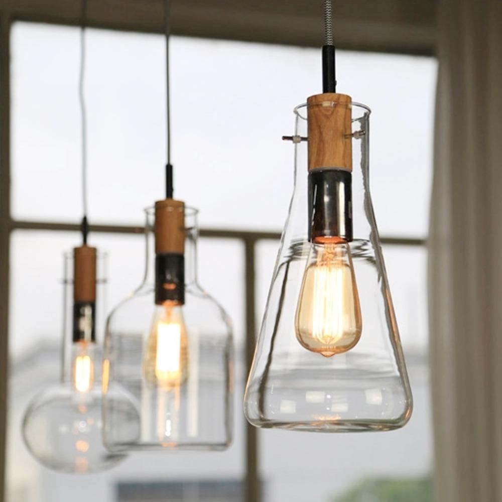 ikea-brief-style-wood-glass-pendant-lamp