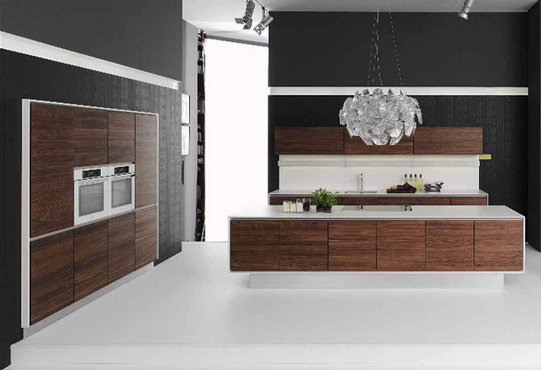 kitchens-appealing-white-kitchen-floor-style-with-brown-kitchen-cabinet-with-black-wall-and-white-pendant-light-awesome-kitchen-floor-styles