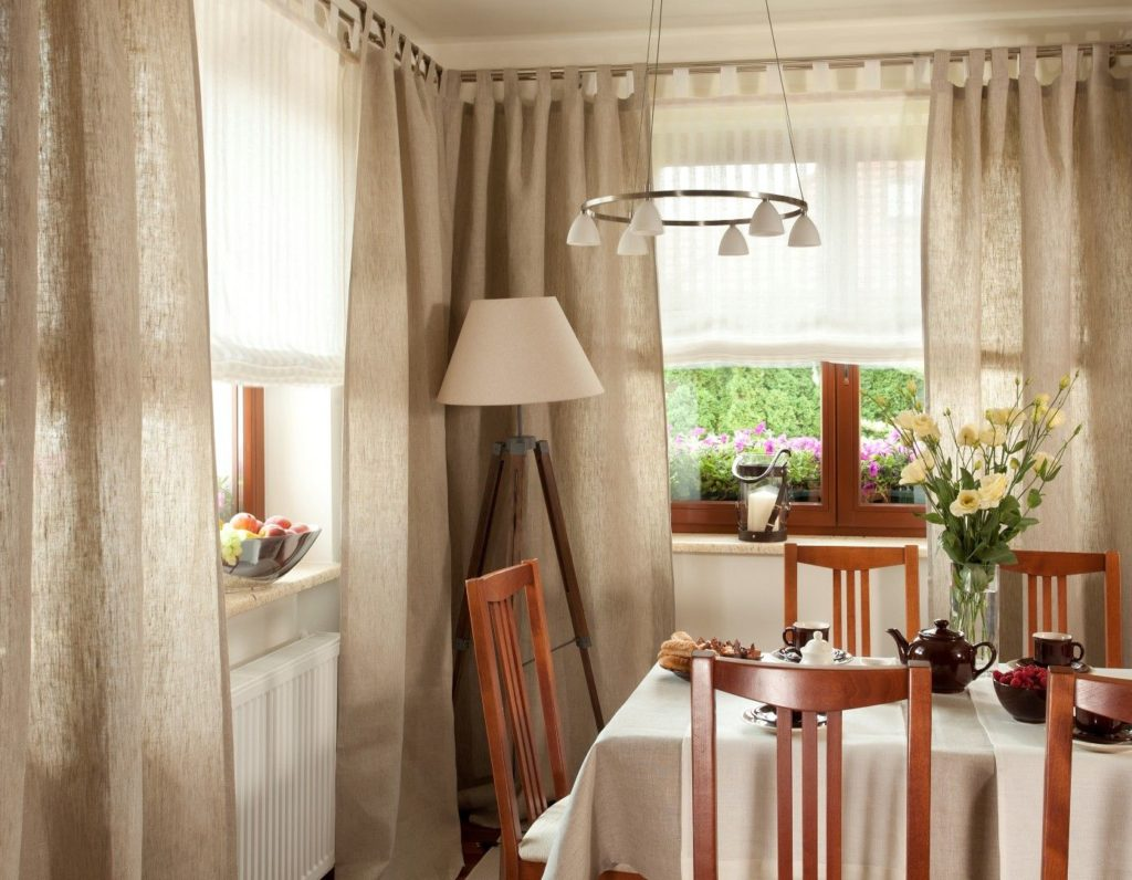 Cafe style kitchen curtains