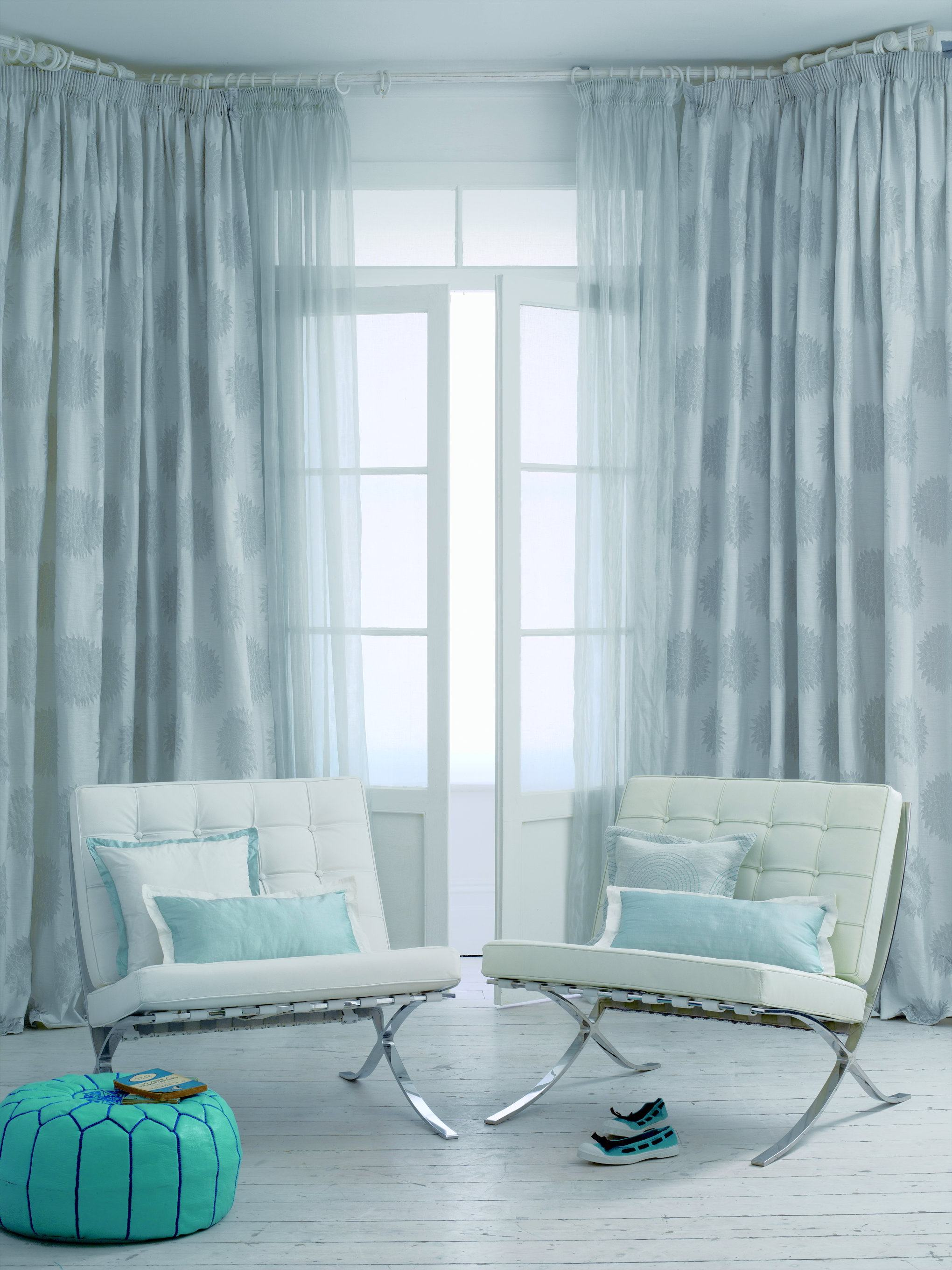 light-blue-sheer-curtains-living-room