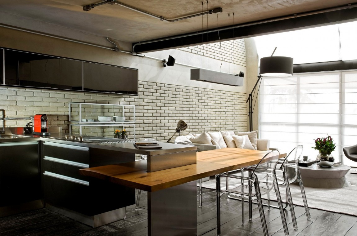 loft-kitchen-island-and-breakfast-bar-in-kitchen-with-alluring-new-home-designs-with-engaging-kitchen-furniture-accent-colors-31