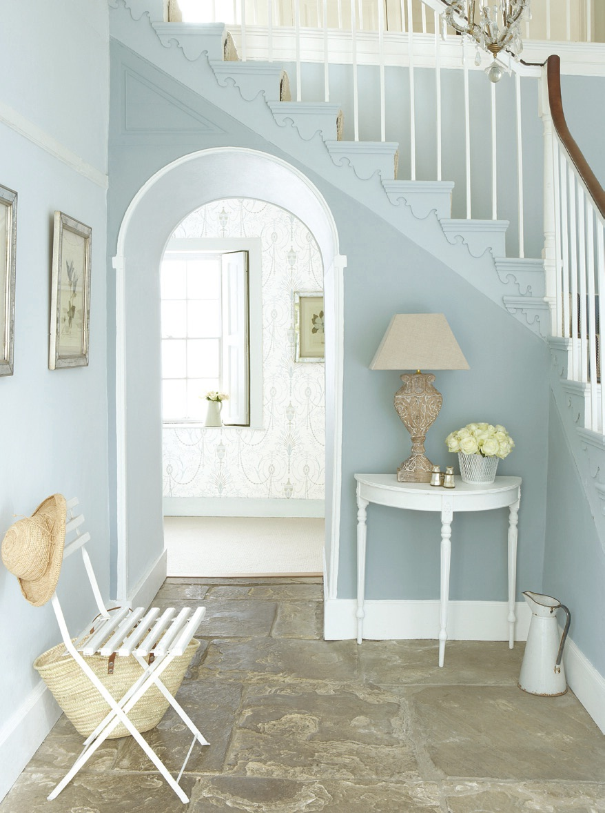modern-blue-nuance-of-the-hallway-decor-that-has-grey-floor-can-be-decor-wiith-white-chair-and-also-table-that-make-it-seems-nice-design-ideas-that-seems-great-design-inside-the-house