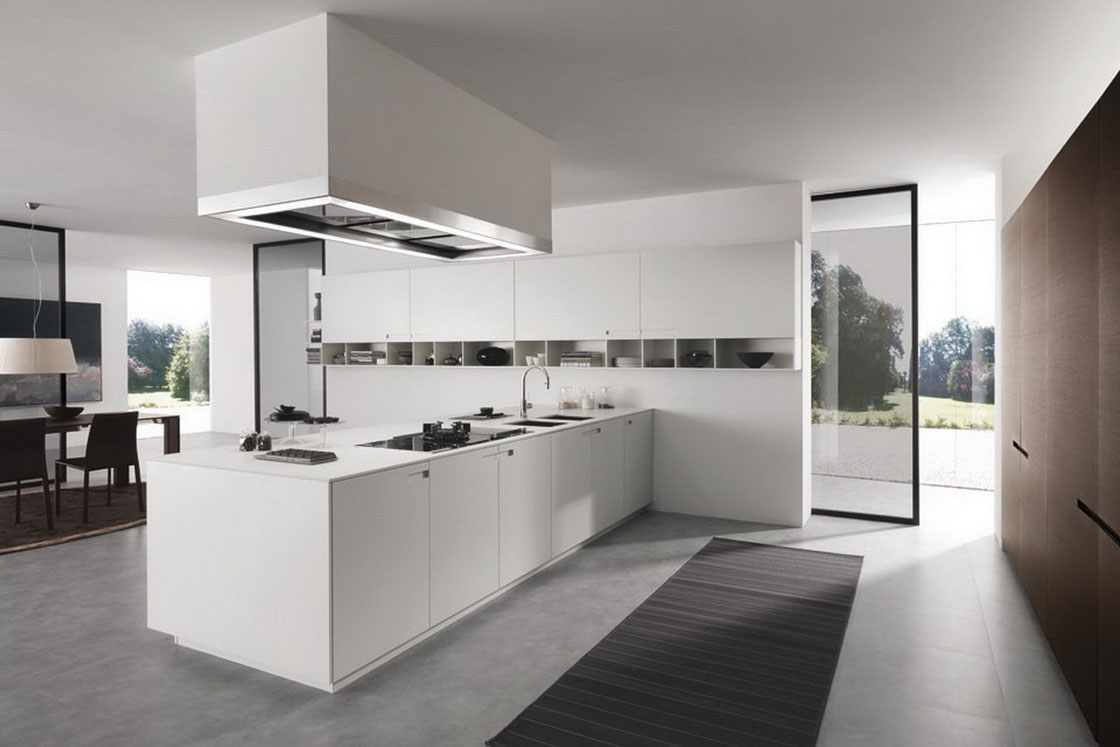 modern-minimalist-kitchen-decor-simple-kitchen-set-white-cabinet-fascinating-kitchen-lamp-ideas-for-modern-look