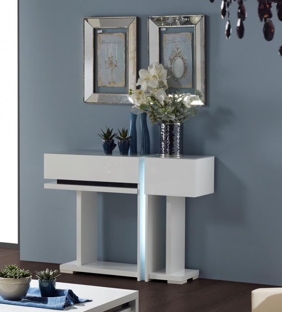 modern-white-console-table-for-hallway