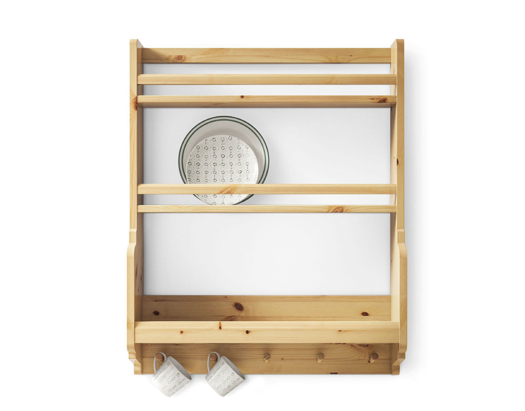 nice-solid-pine-ikea-kitchen-wall-shelf-with-plates-and-pegs-for-mugs-photos-of-in-concept-gallery-ikea-kitchen-wall-shelves