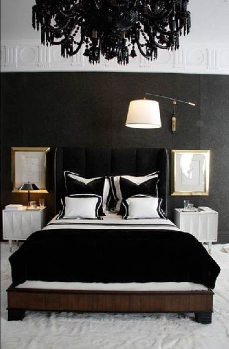 perfect-black-and-white-wall-colors-for-bedrooms