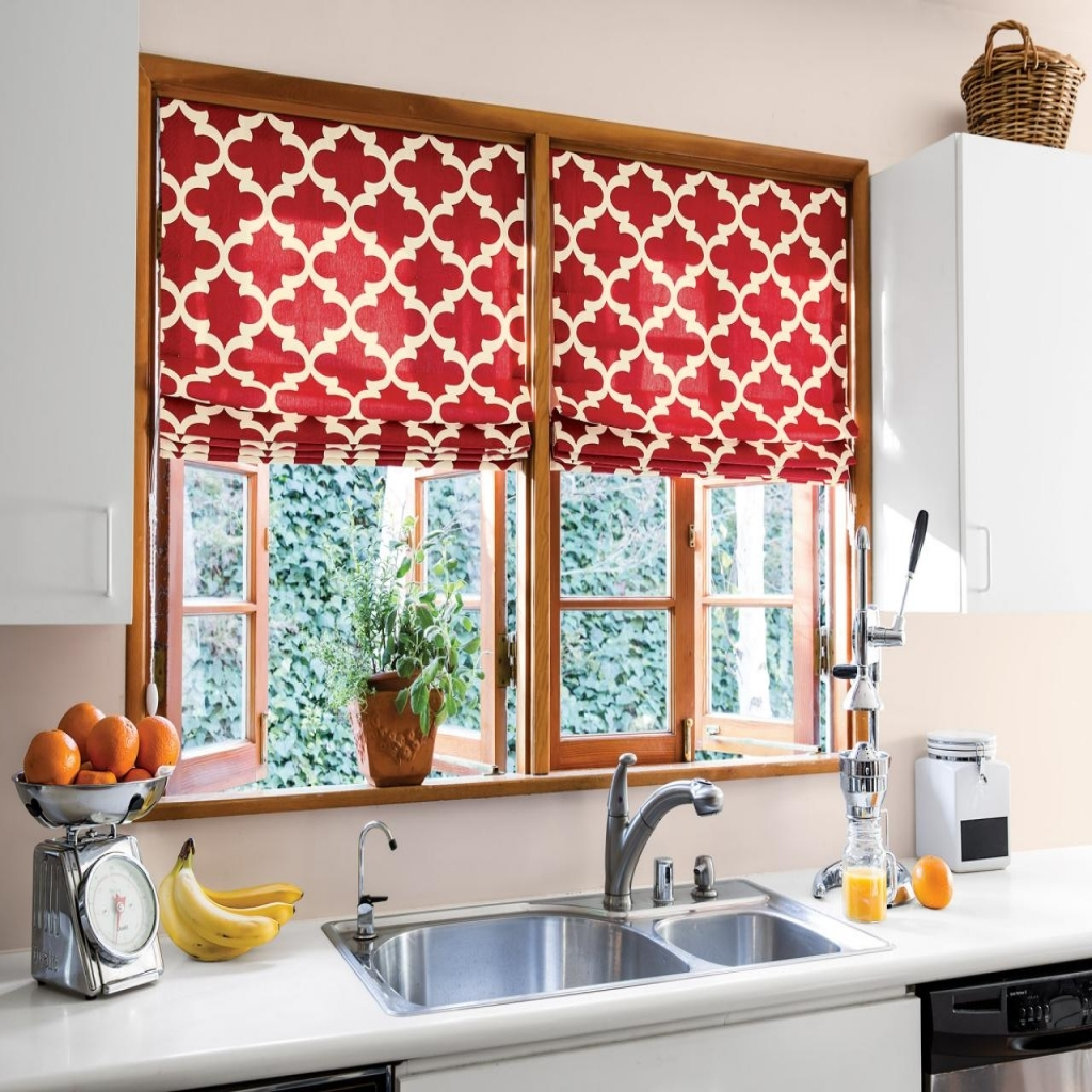 Red Kitchen Curtains - Kitchen Ideas