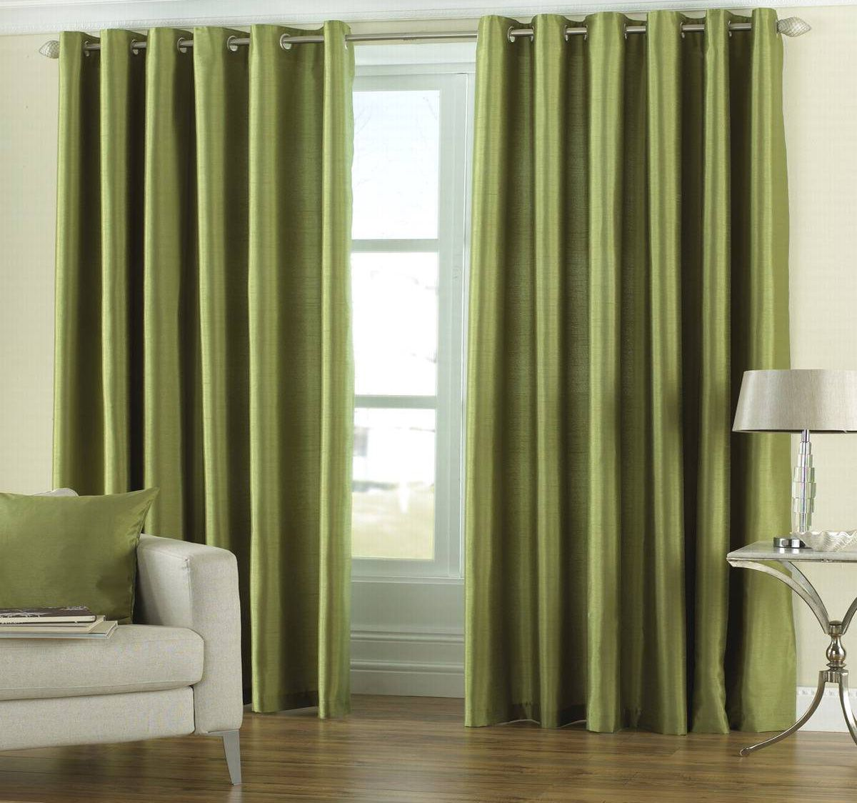 sage-green-grommet-curtains