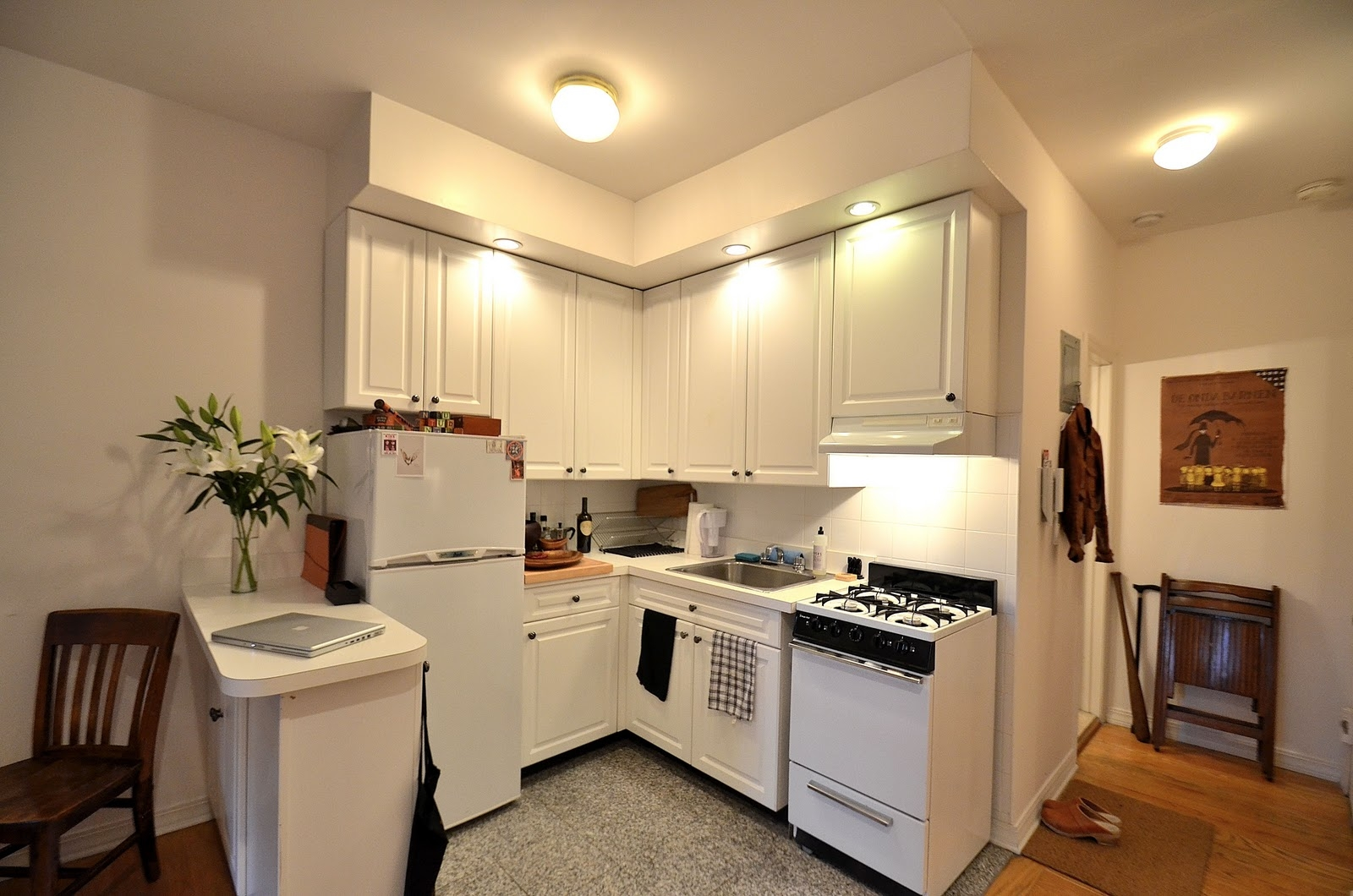Small Apartment Kitchen Ideas Small A
