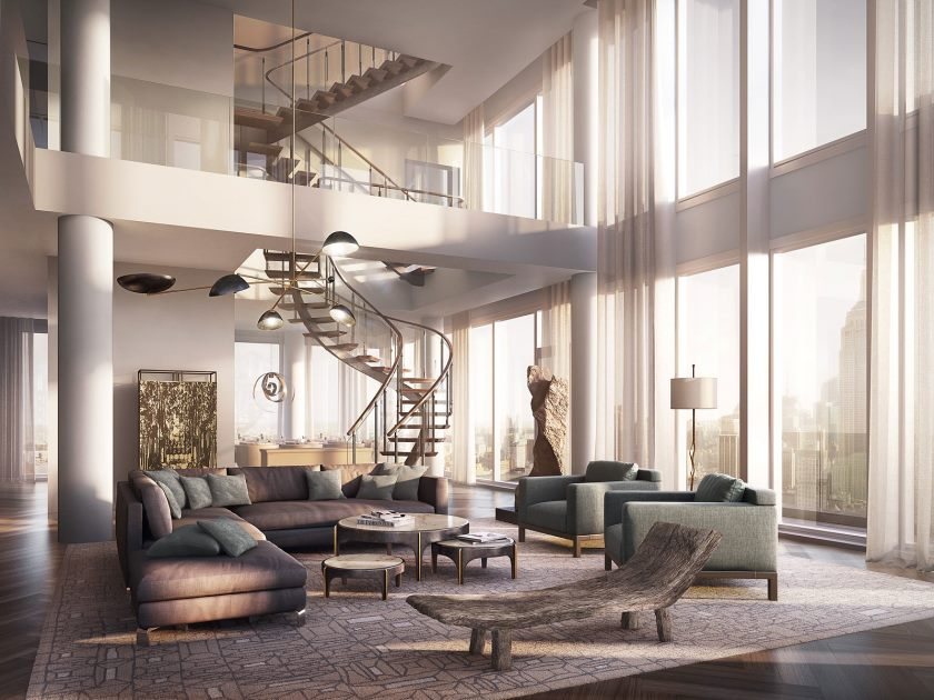 25-luxury-new-york-penthouse-penthouses-in-nyc-amazing-hall-with-creative-interior-stairs_extrior-decoration-of-pent-house_office_office-space-designs-design-a-home-fedex-and-print-center-optometry-cu