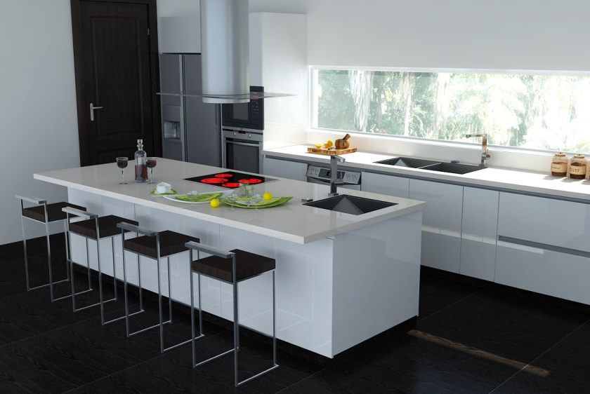 7-black-and-white-kitchen-island