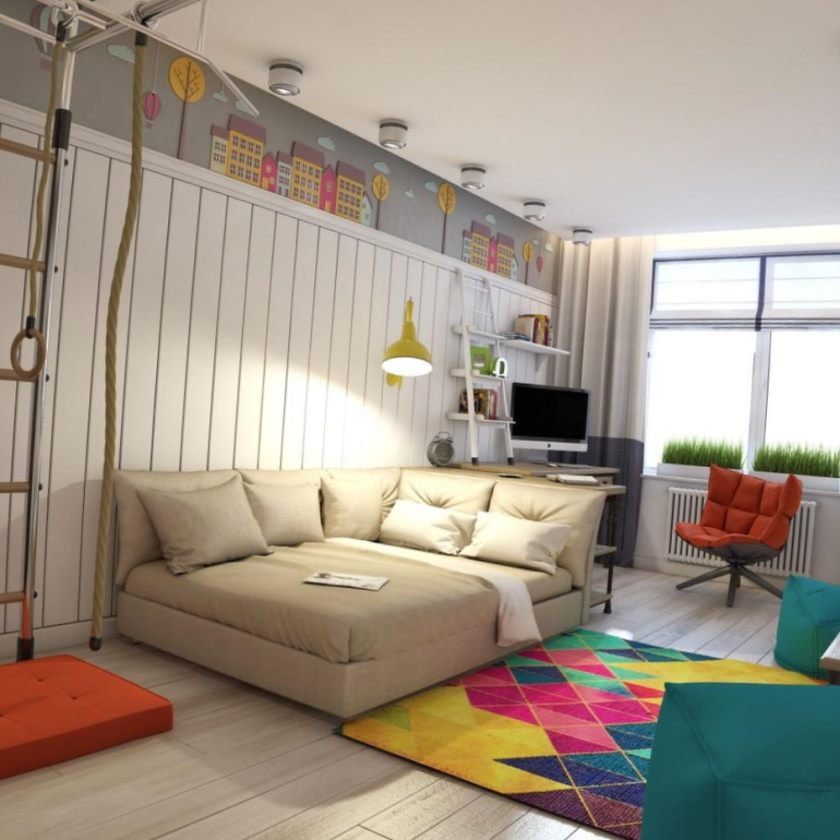 interior of the apartment, interior design.