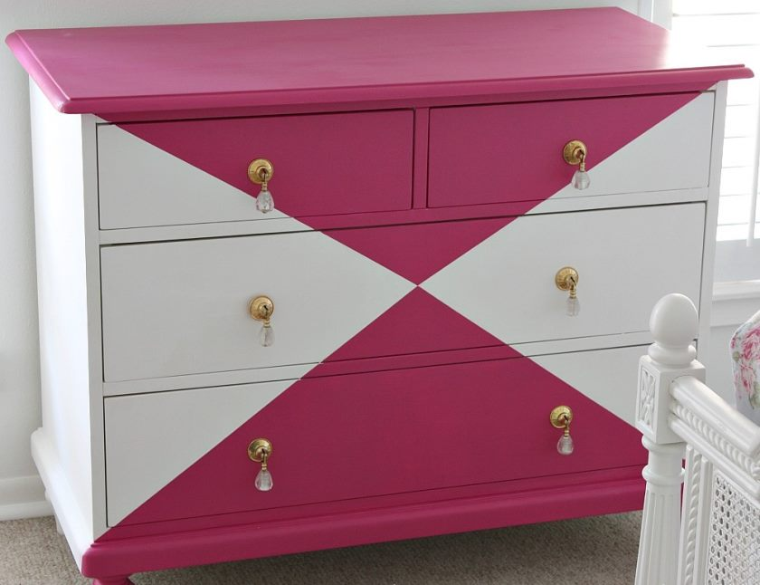 tutorial-for-creatively-painting-childrens-furniture-dresser-painted-with-velvet-finishes-in-the-color-glamourous-the-creativity-exchange