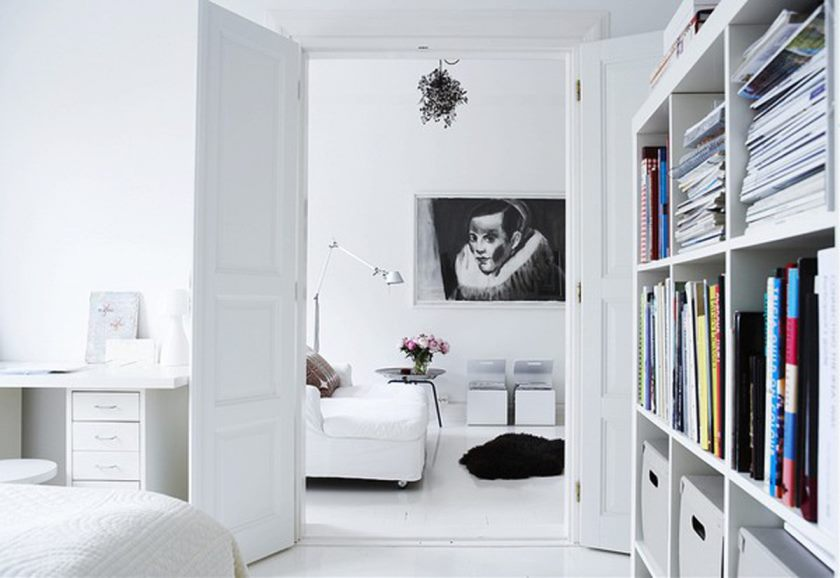 attractive-design-black-and-white-themes-contemporary-interior-simple-black-and-white-designs