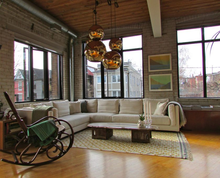 industrial-living-room