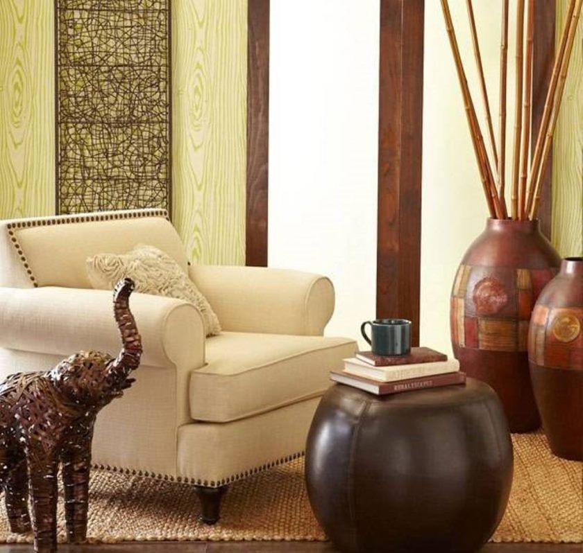lovely-brown-colored-with-egyptian-picture-big-vases-for-living-room-suitable-for-india-theme-interior-decoration