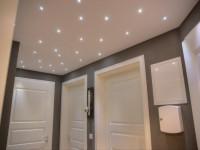 Потолок в прихожей — фото лучших, готовых решения оформления дизайна потолка для прихожей