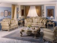 Гостиная в стиле барокко — 120 фото красивого дизайна