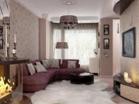 Новинки гостиной — дизайн интерьера