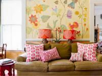 Рисунки на стене: лучшие дизайнерские идеи декора (100 фото)