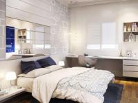 Идеи функционального и стильного дизайна спальни 12 кв. м.