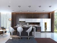 Расположение светильников на натяжных потолках: правила и примеры схем