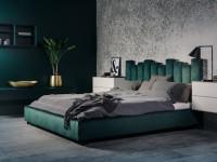 Лучшие дизайнерские решения кроватей с мягким изголовьем (100 фото )