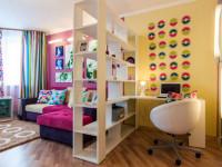 Перегородки для зонирования комнаты: виды и советы по выбору (100+ фото)