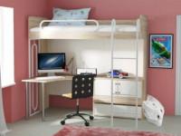Кровать-чердак от IKEA: отличный вариант экономии места в детской (60+ фото)