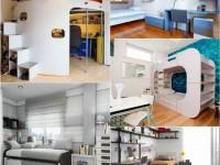 Идеи дизайна детской комнаты для двоих мальчишек разного возраста