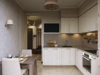 Идеи дизайна кухни 8 кв. метров с холодильником