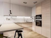 Кухня в стиле минимализм: правила оформления, выбор мебели и освещения (100+ фото)
