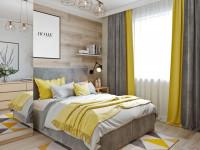 Как подобрать шторы по цвету обоев в спальню, гостиную или зал