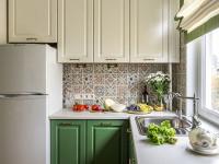 Идеи дизайна интерьера кухни 7 кв.м с холодильником (60+ фото)