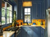 Сочетания цветов в интерьере кухни и фото идеи