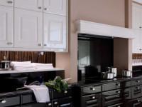 Лучшие идеи дизайна черно-белой кухни (60+ фото)