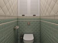 Идеи дешевого и красивого дизайна туалета в квартире плиткой