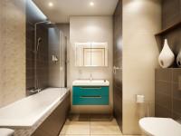 Идеи дизайна маленькой ванны 3-5 кв. м совмещенной с туалетом