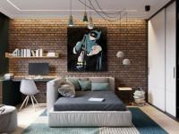 Дизайн интерьера квартиры в стиле лофт (70+ фото)