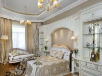 Дизайн спальни в классическом стиле в светлых тонах (70+ фото)