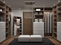 Дизайн и идеи планировки гардеробной комнаты в спальне
