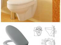 Сиденье для унитаза из дюропласта: специфика материала