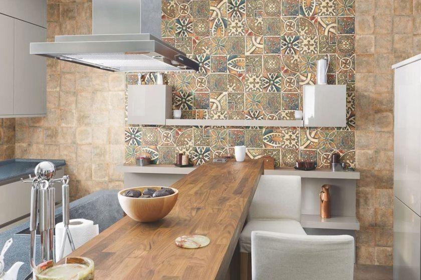 фартук на кухню из плитки фото дизайн 5