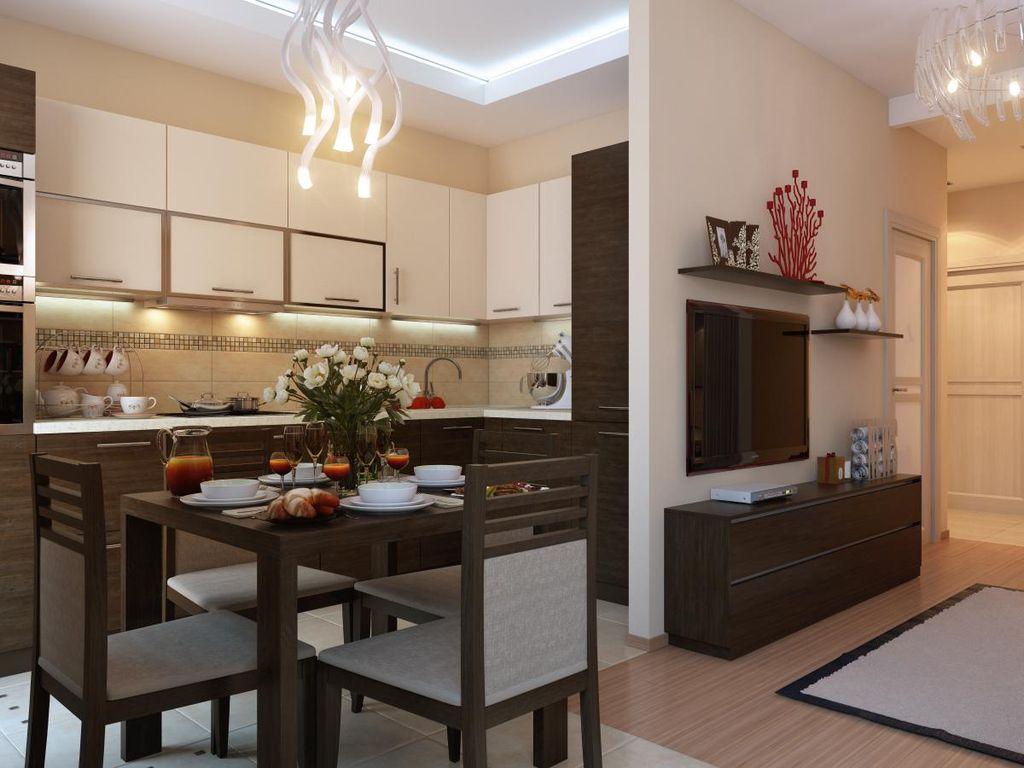 дизайн кухни в доме 2