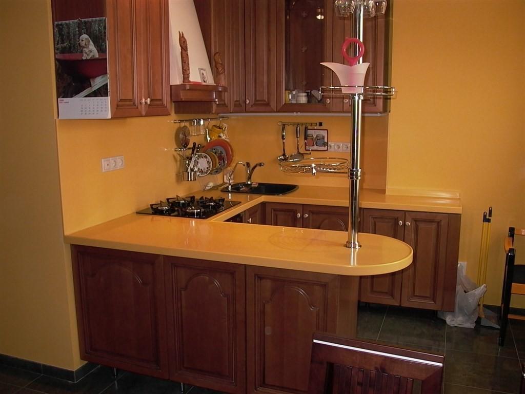 кухни фото дизайн угловые маленькие с барной стойкой 3