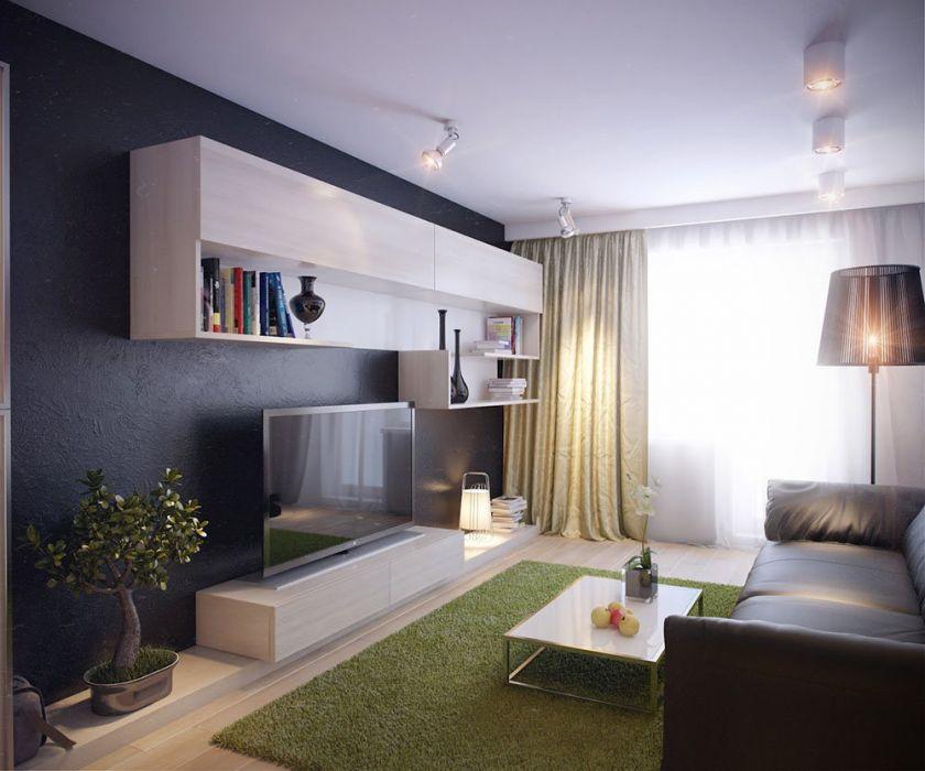 гостиная дизайн 2019 3