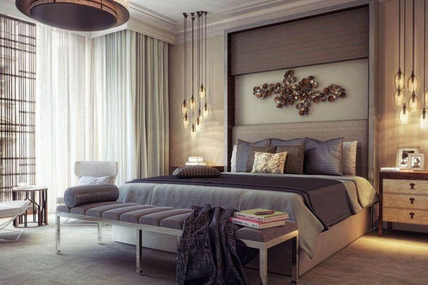 дизайн спальной комнаты фото 2019 современные идеи 3