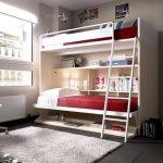 детская двухъярусная кровать икеа